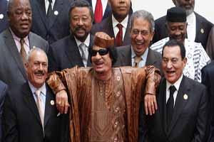 صورة تجمع الرئيس المصرى والليبي واليمني - وكالات