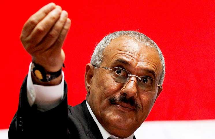 الرئيس اليمني المقتول عالى عبد الله صالح