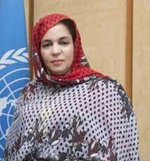 السفيرة مديرة قطاع أمريكا وآسيا بالخارجية الموريتانية مريم بنت أوفى المستقيلة