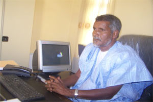 الأمين العام للكونفدرالية العامة لعمال موريتانيا عبد الله ولد محمد الملقب النهاه
