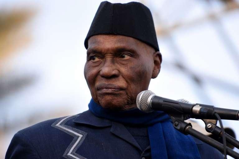 الرئيس السينغالي السابق عبد الله واد