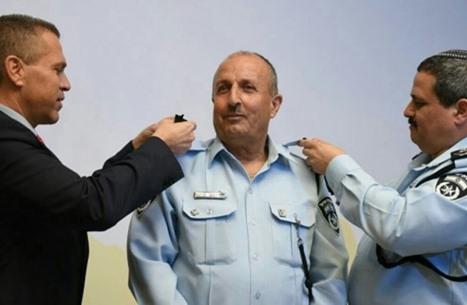 ترقية جمال حركوش لثاني أعلى منصب في الشرطة الاسرائيلية. وكالات
