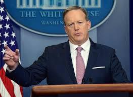 المتحدث باسم البيت الأبيض شون سبايسر . وكالات