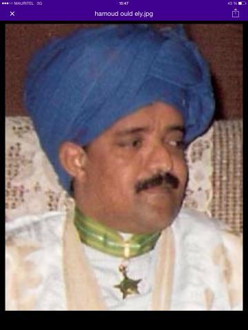 حمود ولد علي سفير و وزير سابق.