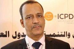 المبعوث الخاص للأمم المتحدة إلى اليمن إسماعيل ولد شيخ أحمد. أ. ف. ب