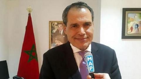 حميد شبار السفير المغربي بنواكشوط