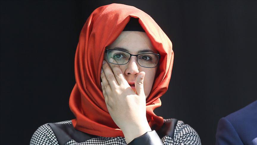 خديجة جنكيز خطيبة جمال خاجقشي _ أرشيف الكتروني